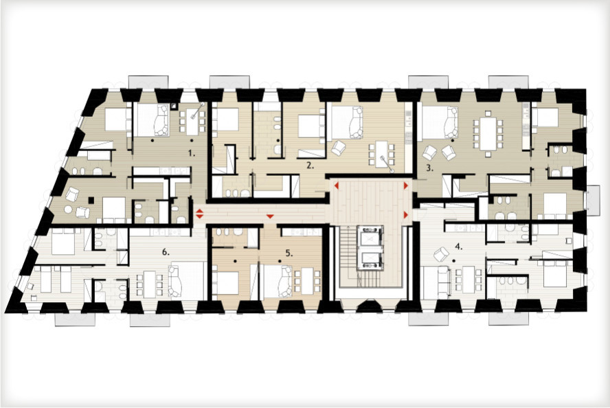 planimetria piani_terzo piano